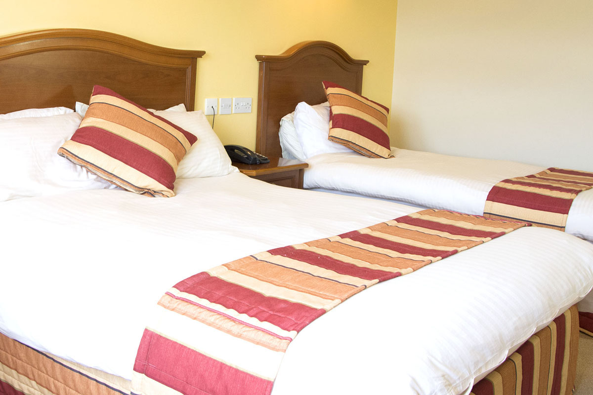 Triple Ensuite Bedroom | Achill Cliff House Hotel Rooms